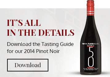 50th Parallel Estate Pinot Noir