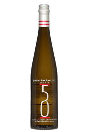 50th Parallel Estate Gewurztraminer 2018