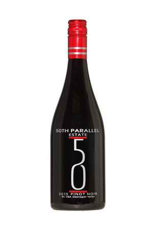 50th Parallel Estate Pinot Noir 2015 Image